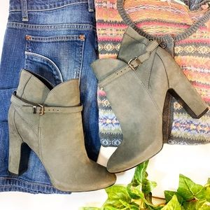 7 For All Mankind Ankle Leather Booties